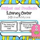 If you are trying to see if your students understand the basics of being able to recognize the difference between complete subjects, simple subject. Complete Predicate, Simple Subject, Subject And Predicate, 5th Grades, Literacy Centers, Task Cards, Language Arts