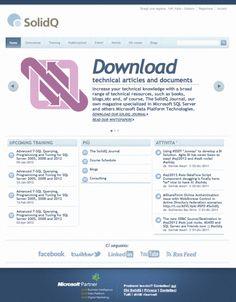 Online la nuova identità digitale di SolidQ