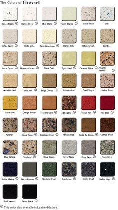I like the idea of a Quartz counter top, But do I go with Red Eros or Blanco Maple.... Oh I also copied this from the SileStone web site: The natural quartz in Silestone makes it the toughest interior surface available on the market. It resists scratching, staining and scorching better than any other natural stone or solid surface. Just clean with Windex or Lysol... Easy: