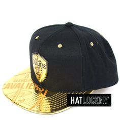 new styles 2621d fdc3c Hat Locker    Mitchell   Ness Cleveland Cavaliers Gold Standard Snapback     Free shipping