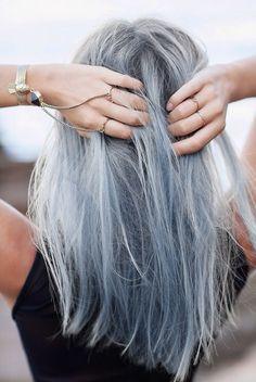 faded lavender colored hair :: zazumi.com More
