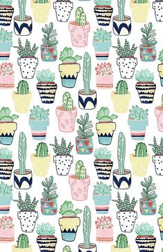 Image de wallpaper, background, and cactus Tumblr Wallpaper, Screen Wallpaper, Cartoon Wallpaper, Cute Backgrounds, Wallpaper Backgrounds, Cactus Wallpaper, Succulents Wallpaper, Wallpaper Ideas, Phone Backgrounds