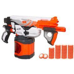 A big, fast, long range Nerf gun.