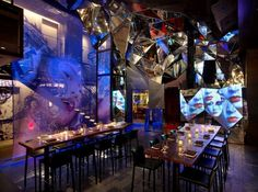 Toy (New York, USA) Jeffrey Beers - Restaurant & Bar Design