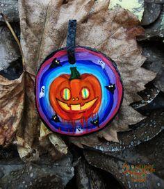 Happy Halloween pumpkin with glowing  effect in by OldschoolCrew