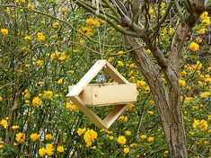 Vtáčie kŕmidlo / byZniev - SAShE.sk Outdoor Furniture, Outdoor Decor, Bird Feeders, Ale, Bench, Home Decor, Decoration Home, Room Decor, Ale Beer