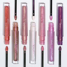 Hooded Eye Makeup – Great Make Up Ideas Huda Beauty Lipstick, Liquid Lipstick, Beauty Makeup, Jessica Clement, Sephora, Kiss Makeup, Makeup Kit, Glitter Lip Gloss, Makeup Ideas