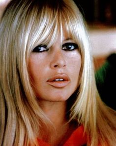 People speak of Brigitte Bardot, they speak of her hair. Yet the best blondes have all been brunettes, including Harlow, Monroe and Bardot. Bridgitte Bardot, French Actress, Great Hair, Divas, Hair Inspiration, Cool Hairstyles, Vintage Hairstyles, Hair Makeup, Eye Makeup