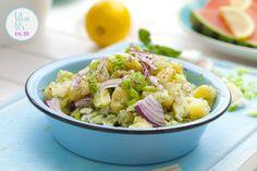 Mój zbiór przepisów kulinarnych-  wyszukane w sieci: Najlepsza sałatka ziemniaczana na grilla