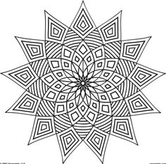 Stress Coloring Books for Adults Unique these Printable Mandala and Abstract Coloring Pages Relieve Stress and Help You Meditate Geometric Coloring Pages, Pattern Coloring Pages, Printable Adult Coloring Pages, Flower Coloring Pages, Mandala Coloring Pages, Coloring Book Pages, Coloring Sheets, Doodle Coloring, Geometric Patterns