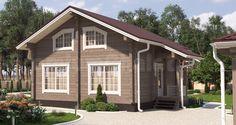 Проект деревянного дома — дом из бруса Надёжное пристанище — НП-138