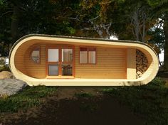 eco-PERCH, UK by Blue Forest Architecture