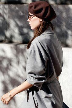 coat & beret | style heroine