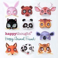 Craft worksheets, DIY templates, fun activities + papercraft video tutorials Crafts For Kids To Make, Easy Crafts, Arts And Crafts, Paper Crafts, 3d Paper, Kids Crafts, Animal Mask Templates, Printable Animal Masks, Printable Activities For Kids