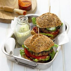Grillburger Recept | Weight Watchers Nederland