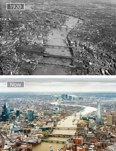 13 Great Cities Then and Now