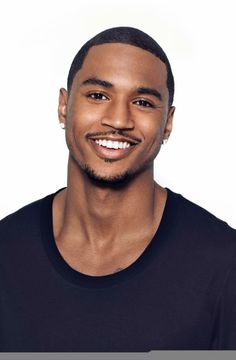 Trey Songz haircut and trendy black men in wzuuwvd - Hair Styles Fine Black Men, Gorgeous Black Men, Hot Black Guys, Handsome Black Men, Fine Men, Beautiful Men, Black Man, Beautiful People, Trey Songz