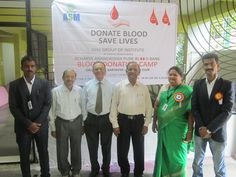Blood Donation Camp by ASM Group of institutes held at 5th October 2013.