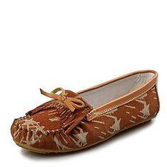 BeMIX Damenschuhe runde Kappe flachem Absatz Wildlederloafern Schuhe mehr Farben erhältlich - http://on-line-kaufen.de/bemix/bemix-damenschuhe-runde-kappe-flachem-absatz