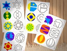 Игры с мандалами развивают память, образное мышление, фантазию. Вы можете скачать комплект карточек с потрясающими мандалами для занятий с малышами от 2х лет, иногда даже раньше.