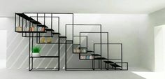 Metal stairs or a steel staircase ? It doesn't have to be an all functional metal staircase, design is a big thing too. Modern Railing, Modern Stairs, Staircase Design Modern, Interior Stairs, Interior Architecture, Interior Design, Modern Interior, Stairs Architecture, Interior Livingroom