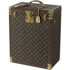 Custom-Made Louis Vuitton Jewellery and Watch Trunk | From a unique collection of antique and modern home accents at https://www.1stdibs.com/furniture/more-furniture-collectibles/home-accents/