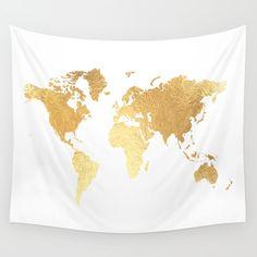 Textured, Texture, Gold, Map...