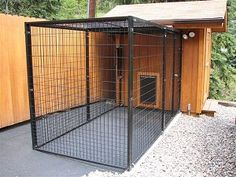Customer Dog Kennels Photos, Dog Kennel Reviews and Comments about our Dog Kennels by Options Plus.