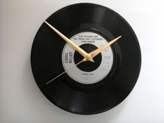 """Cliff Richard-& The young ones - living doll 7"""" vinyl record clock £7.99"""