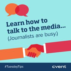 On Tuesdays we are sharing ‪#‎eventplanning‬ tips on everything from marketing to relationship building to ‪#‎event‬ follow-up! Today's tip >> Media contacts are key to getting your event and organization coverage, but your sales pitch will not do! Focus on storytelling and sharing key information. If you found this tip helpful, pin it! ‪#‎TuesdayTips‬