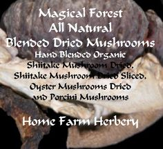 Magical Forest Blend Dried Mushrooms, Buy 1 or Buy 3 & get 1 FREE , Order now, No Chemicals, FREE SH
