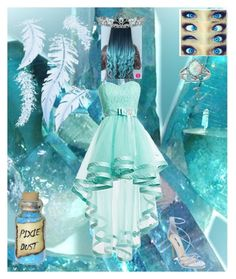 """""""Blue"""" by hope-of-hermes ❤ liked on Polyvore featuring Glitzy Rocks, Kate Marie and Steve Madden"""