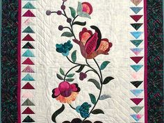 Jacobean Appliqued Wall Hanging Photo 2