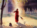 Myoe Win Aung / Myanmar / painting / watercolor
