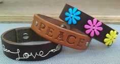 Cool Leather Bracelets #Ernie Catzoela