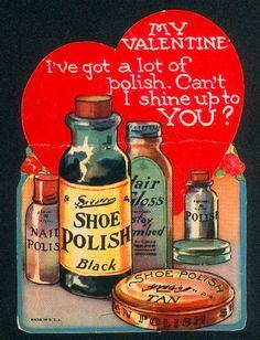 Vintage Valentines: Polish Product Placement