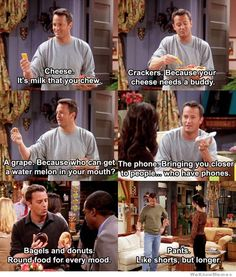 Chandler needs a job, but will he get one? Love this show!!!