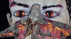 Del Kathryn Barton, Geoffrey Rush, Mia Wasikowska and Sarah Blasko unite for Oscar Wilde's The Nightingale and the Rose Del Kathryn Barton, Rose Art, Australian Artists, Dark Art, Painting Inspiration, Creative Art, Art For Kids, Art Projects, Street Art