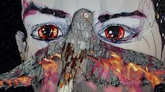 Del Kathryn Barton's artwork is distinctive.