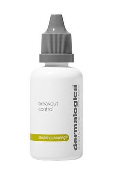 """Dermalogica's Breakout Control uses lactobacillus ferment to balance the bacteria that occurs naturally on your skin. """"Most acne products strip the skin of good bacteria, but this one doesn't,"""" says Schook. Dab a few drops of this spot treatment over your acne and in a few days you'll notice diminished pimples without that tight, dry feeling that comes with many acne treatments...."""