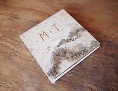 This gift is part #DIY, part CustomMade. Collect photos of you and your Valentine throughout the years, and organize them in this carved birch and mahogany photo album! Because the birch bark is a natural material, no two books will be exactly alike.