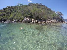 Lagoa verde -Blog Apaixonados por Viagens - Guia de Ilha Grande - Rio de Janeiro - Angra dos Reis