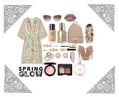 """""""Spring Glow"""" by mel2016 ❤ liked on Polyvore featuring Tory Burch, Apt. 9, Bloomingdale's, Kate Spade, MAC Cosmetics, Lime Crime, NARS Cosmetics, Gucci, Henri Bendel and MICHAEL Michael Kors"""