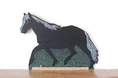 free shipping / horse shaped chalkboard / by GeneralTaxonomy, $27.00