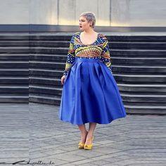 B l t long dress royal blue