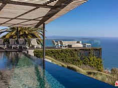 Cliff edge Home with infinity pool and grand Pacific Ocean views