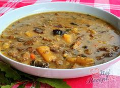 Czech Recipes, Bon Appetit, Cheeseburger Chowder, Food And Drink, Cooking, Kitchen, Soups, Invite, Fashion