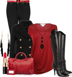 """Sexy Red"" by thalianbaby67 on Polyvore"