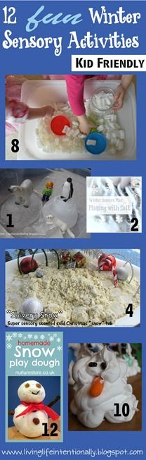 12 Winter Sensory Activities