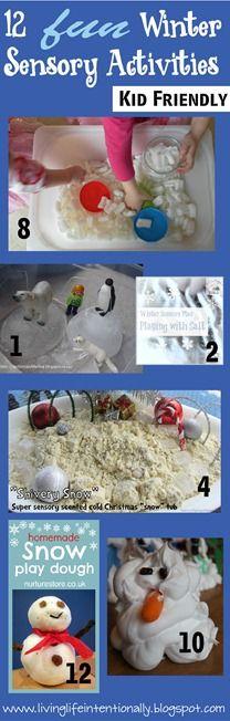 winter sensory activities